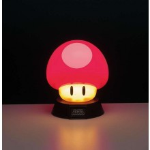 Super Mario Mushroom 3D-lampe