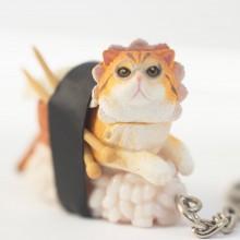 Sushi Cats Blind Box Nøglering