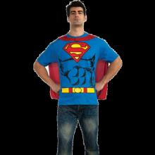 SUPERMAN T-SHIRT KOSTUME