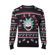 Juletrøje Rick & Morty Get Schwifty
