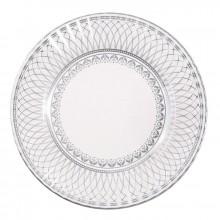 Tallerkener Elegant Sølv 8-pak