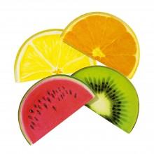Tallerkener Frugtskiver 12-pakke