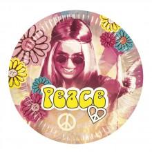 Tallerkener Hippie 60'er 6-pak