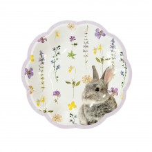 Tallerkener Truly Bunny 12-pakke