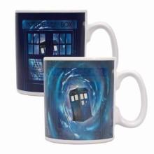 Dr. Who Varmefølsomt Krus TARDIS
