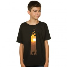 Minecraft Torch T-shirt Børn