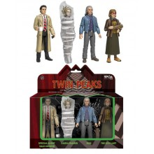 Twin Peaks Actionfigurer 4-pak