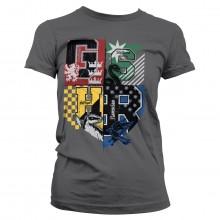 Harry Potter Dorm Crest Dame T-shirt
