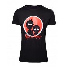 Rick And Morty T-shirt Big Red Logo
