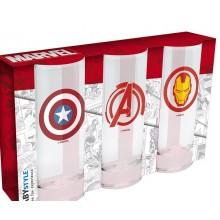 Marvel Glas 3-pak