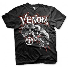 VENOM T-SHIRT (SORT)