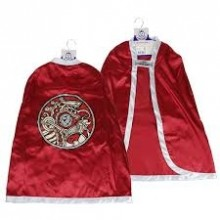 Vikingacape Röd och Silver