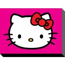 Hello Kitty LÆRred Lilla 60 X 80 Cm
