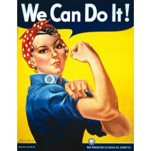 We Can Do It Plakat 61 X 91,5 Cm