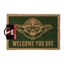 Star Wars Dørmåtte Yoda Welcome You Are