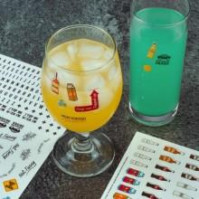 What´s My Drink Drinkmarkør Stickers 250 stk.
