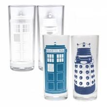 Dr Who Farveskiftende glas 2-pak