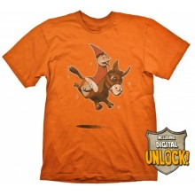 DOTA 2 T-shirt Wizard & Donkey + Digital Unlock