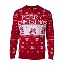 Juletrøje Nintendo Super Mario Christmas