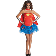 WONDER WOMAN KORSET-KJOLE