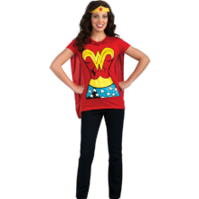 WONDER WOMAN T-SHIRT - KOSTUME