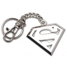 Superman Nøglering Rustfrit Stål