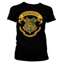 Harry Potter Hogwarts Crest Dame T-shirt