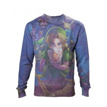 Zelda Link All Over Sweatshirt