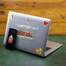 Zelda 8-bits Gadget Mærkat
