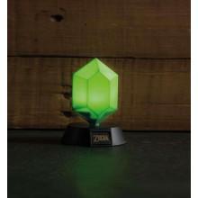 Zelda Green Rupee 3D-lampe