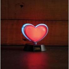 Zelda Heart Container 3D-lampe