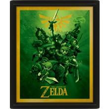 Zelda Lentikulært 3D-motiv