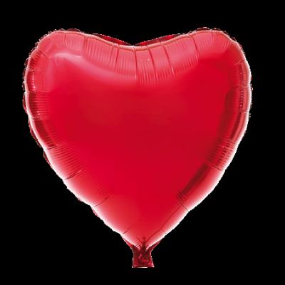 Folieballong Hjärta 70 cm