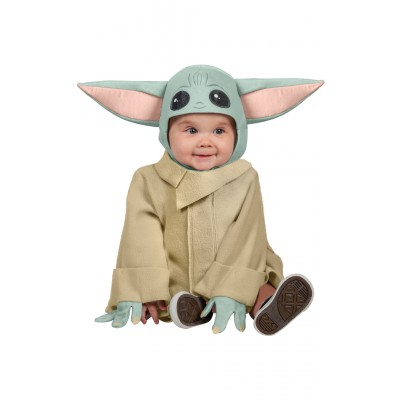 Star Wars the Mandalorian Maskeraddräkt litet Barn