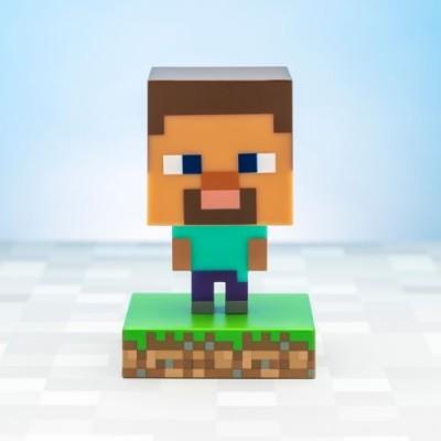 Minecraft Steve Icon Lampa