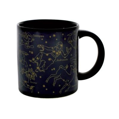 Värmekänslig Mugg Stjärnkarta Guld
